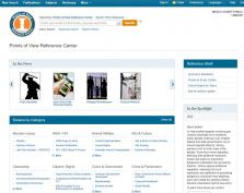 Points of View Reference Center screenshot
